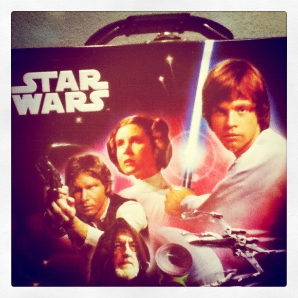 I still have MY Star Wars lunch box. Sure, I bought it in 2010, but I have it, dammit!