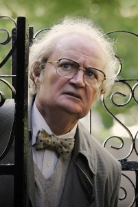 Jim Broadbent, as Timothy Cavendish, doing what he does best: being goofy.