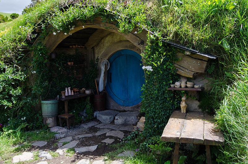 Sometimes you just feel like crawling into your hobbit hole and getting away from it all. Picture by Jeff Hitchcock.