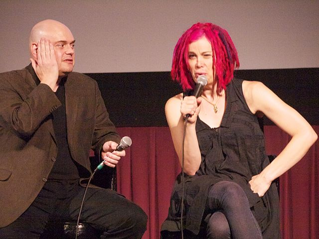 Co-Directors Andy and Lana Wachowski. Photo by Anna Hanks.
